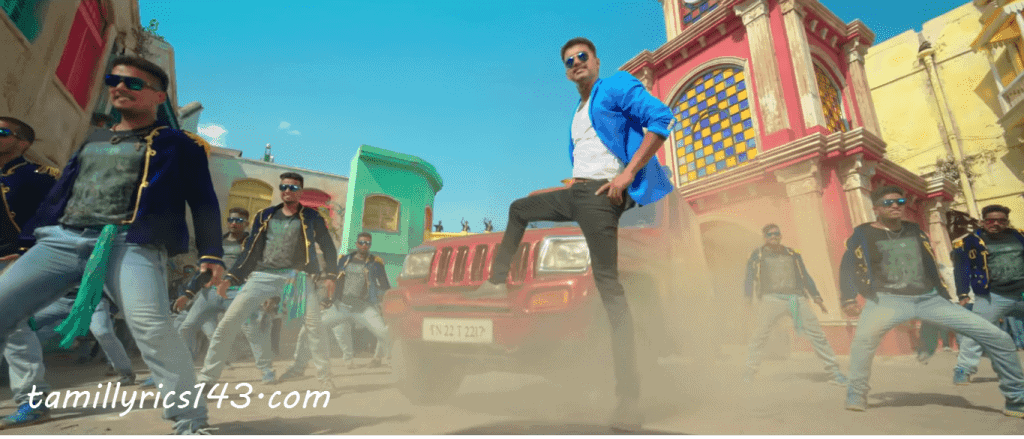 Jithu Jilladi Lyrics From Theri