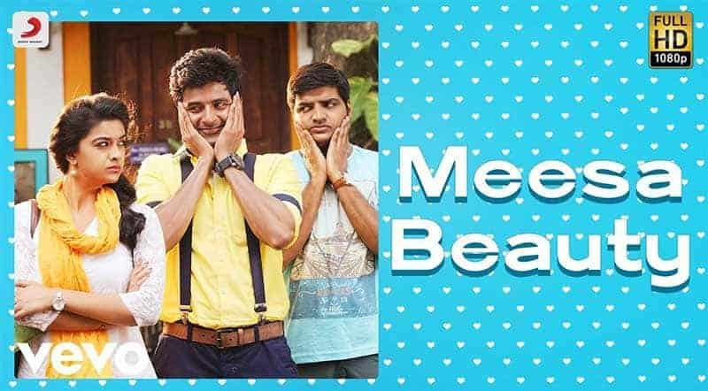 Meesa Beauty Song Lyrics From Remo