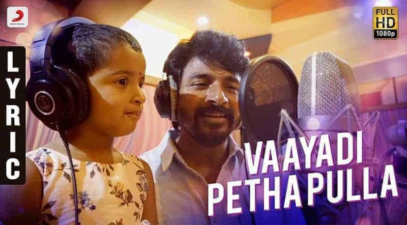 Vaayadi Petha Pulla Song Lyrics From Kanaa