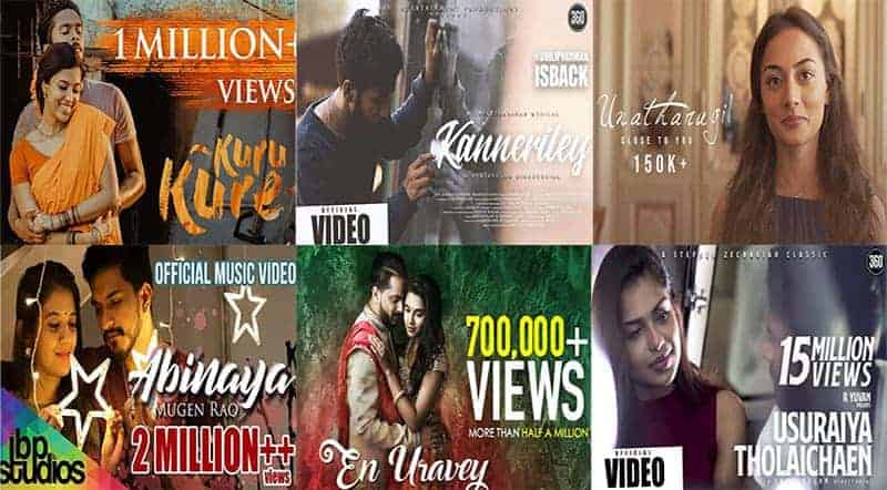 New Tamil Album Songs Lyrics 2019