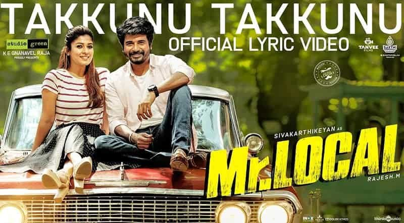 Takkunu Takkunu Song Lyrics From Mr.Local