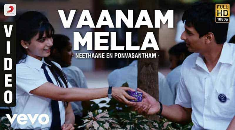 Vaanam Mella Song Lyrics From Neethaane En Ponvasantham