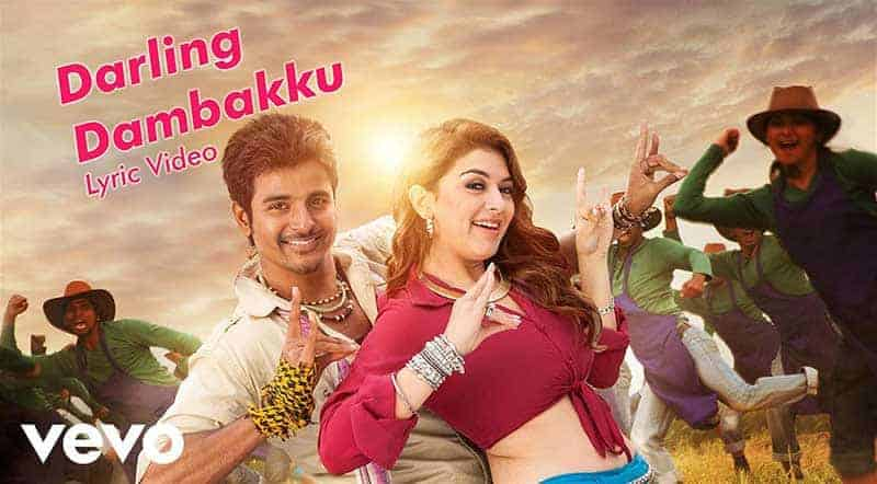 Darling Dambakku Song Lyrics From Maan Karate