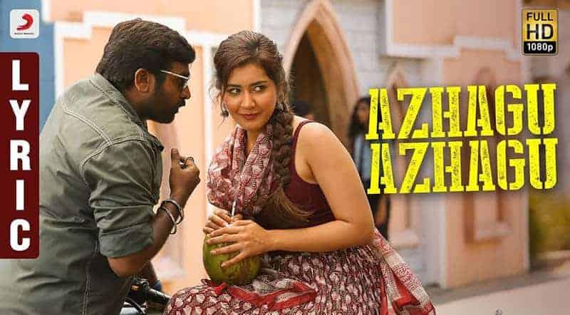 Azhagu Azhagu Song Lyrics From Sangathamizhan
