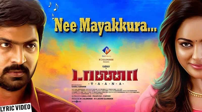 Nee Mayakkura Song Lyrics From Taana