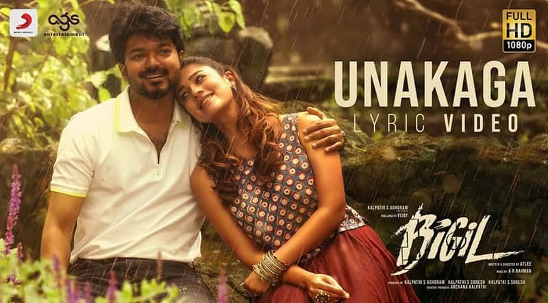 Unakaga Song Lyrics From Bigil