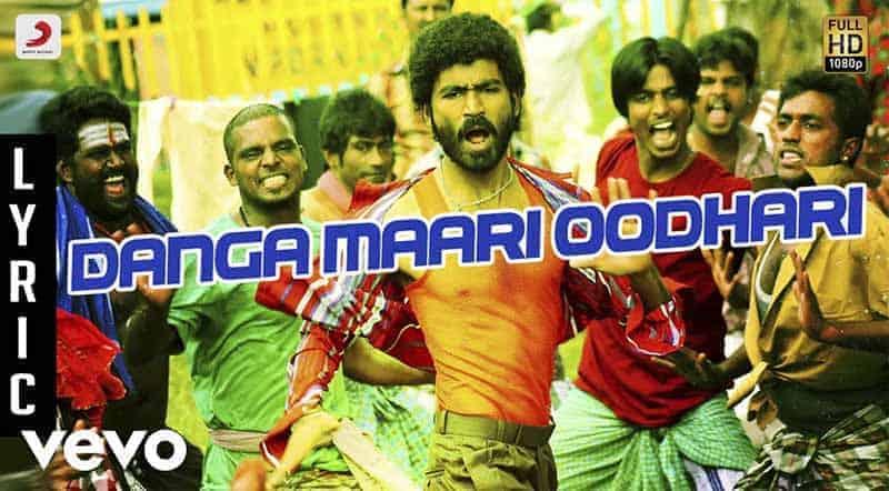 Danga Maari Oodhari Song Lyrics From Anegan