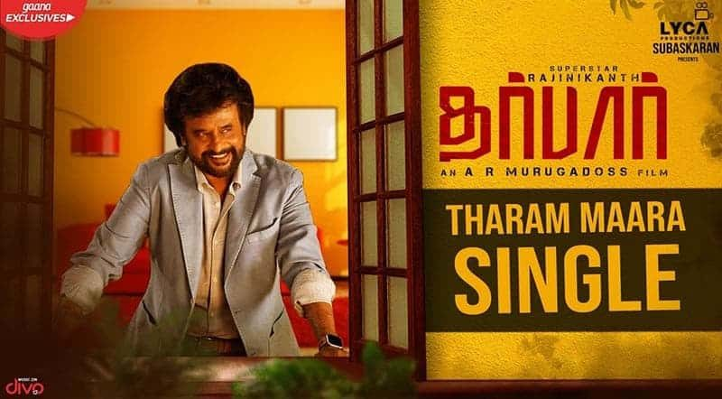Tharam Maara Single Song Lyrics From Darbar
