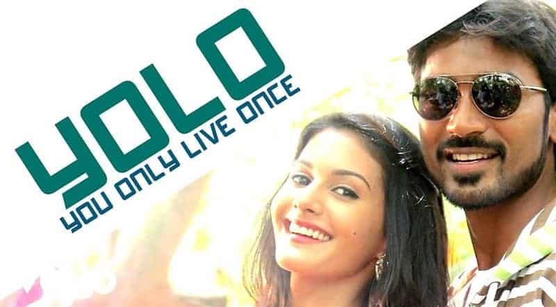 YOLO You Only Live Once Song Lyrics From Anegan