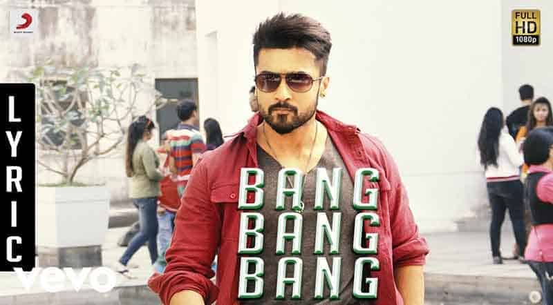 Bang Bang Bang Song Lyrics From Anjaan