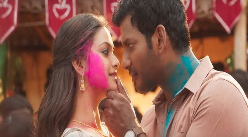 Kambathu Ponnu Song Lyrics From Sandakozhi 2