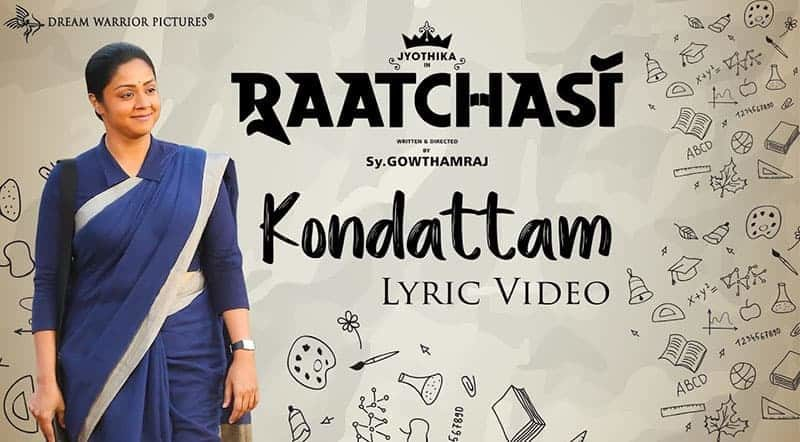 Kondatam Song Lyrics From Raatchasi