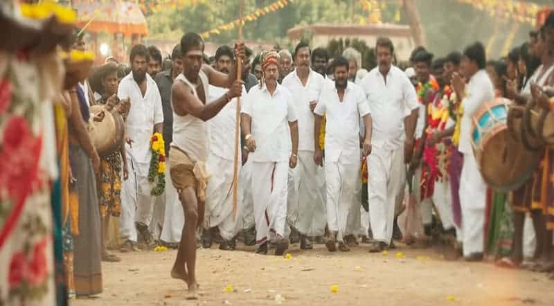 Meesa Vecha Vetaikaaran Song Lyrics From Sandakozhi 2